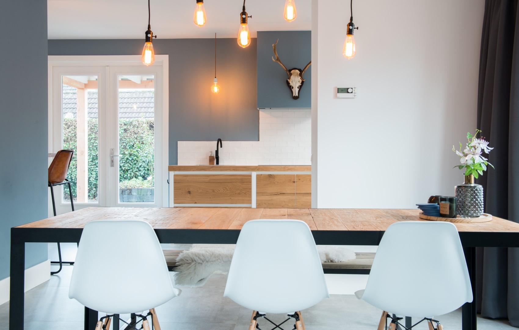 Woonkamertafel petersen keuken interieur Woonkamer tafel